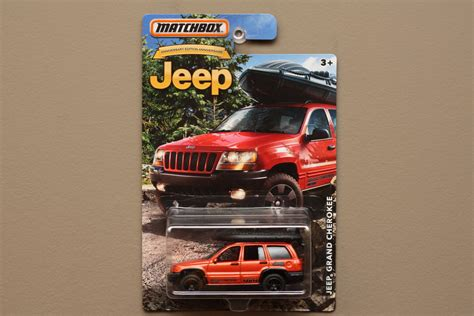 matchbox jeep grand cherokee matchbox 2016 jeep anniversary edition jeep grand cherokee