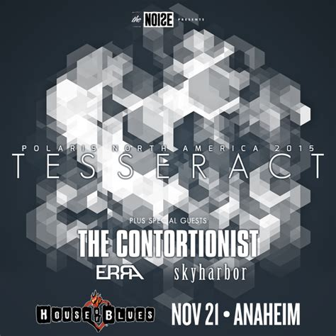 ticket giveaway tesseract  house  blues anaheim