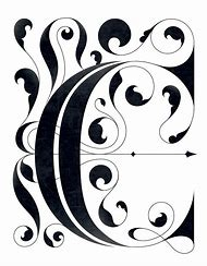 fancy letter c designs