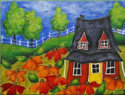 peinture sur toile pour d 233 butant recherche maison 224 pignons toile