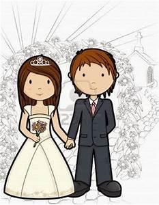 Dessin Couple Mariage Couleur : postales reci n casados todo enamorados ~ Melissatoandfro.com Idées de Décoration