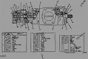4t6020 Pump Group-vane - Caterpillar