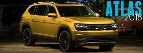 Is the 2018 Volkswagen Atlas Bigger than the Touareg?