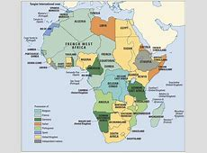 Colonies of Africa with a Map