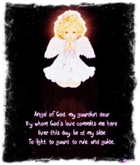 guardian prayer of god my guardian dear by