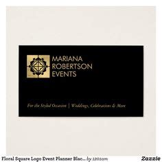 business cards  event planners  wedding