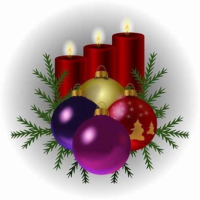 Tree Candles Clipart Kerst Leuke Navidad Toys