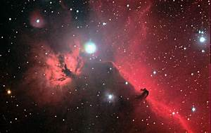 Flame and Horsehead Nebula HaRGB