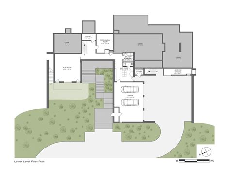 house for plans modern sloping block house design with three storey floor