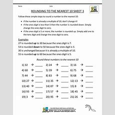 The 25+ Best Rounding Worksheets Ideas On Pinterest  Rounding Activities, Math Round And Rounding
