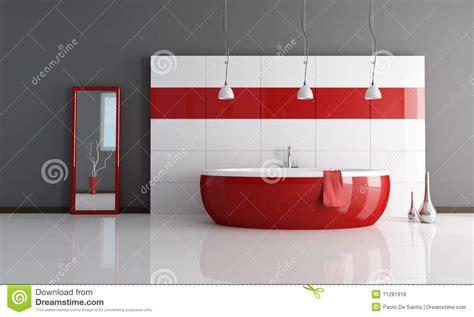 salle de bains et blanche de mode photos libres de droits image 11281918