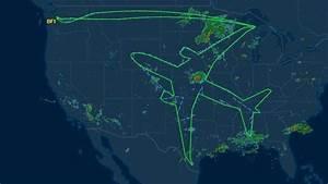 Itineraire Avec Radar : des pilotes dessinent un avion dans le ciel avec un avion l 39 express ~ Medecine-chirurgie-esthetiques.com Avis de Voitures