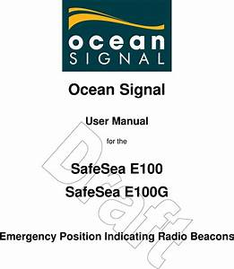 Ocean Signal E100 Emergency Position Indicating Radio