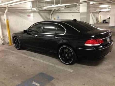 Buy Used Bmw 750li Black 2007 22inch Wheels Fully Loaded