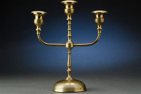light brass candelabras