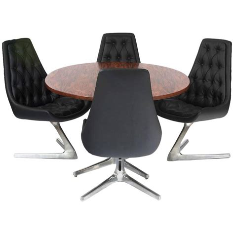 Chromcraft Furniture Dining Sets by Chromcraft Sculpta Dining Table And Chairs At 1stdibs