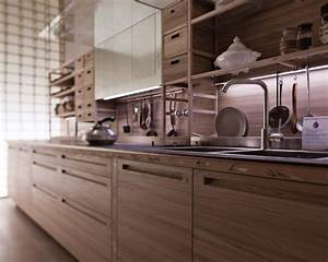 Die kuche zum wohnen architektur und wohnen for Küche de