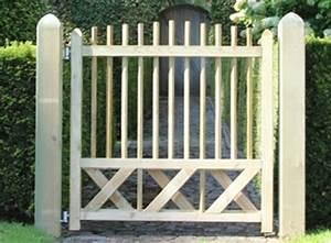 Portail De Jardin : portail de jardin en bois portail battant 4m pas cher ~ Melissatoandfro.com Idées de Décoration