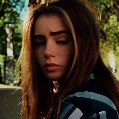 Lily Collins Gifs Giphy Teen Sandra Face