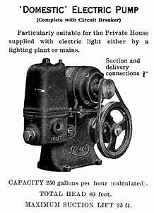 Lister Water Pump