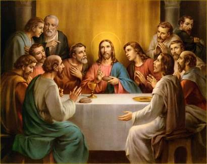 Supper Last Jesus Table Dinner Passion Wallpapers