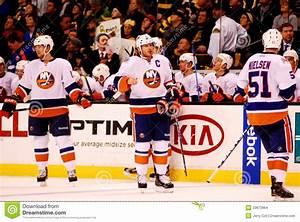 New York Islanders bench. editorial stock image. Image of ...