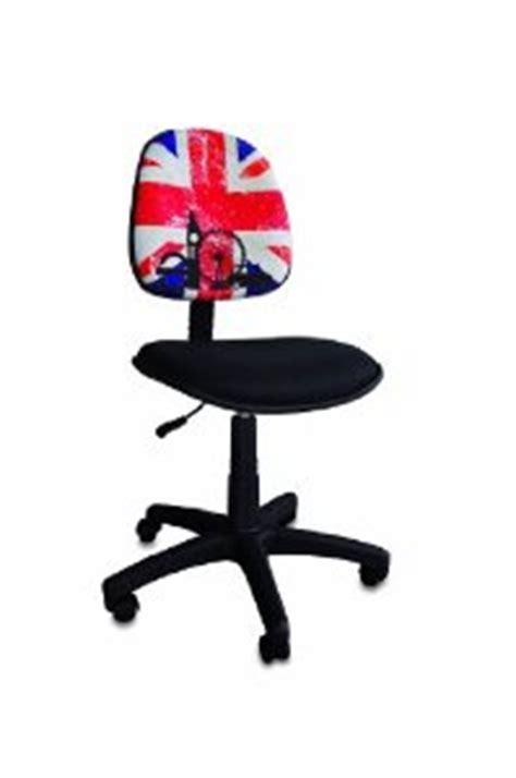bureau drapeau anglais chaise de bureau en anglais