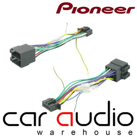 Pioneer Pin Iso Head Unit Replacement Car Stereo Wiring