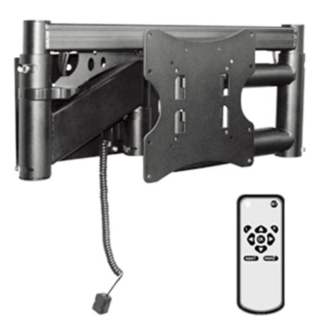 support mural tv electrique support mural tv orientable motorise