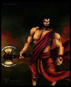 Parshuram and his parshu (axe) | beautiful weapon | Pinterest