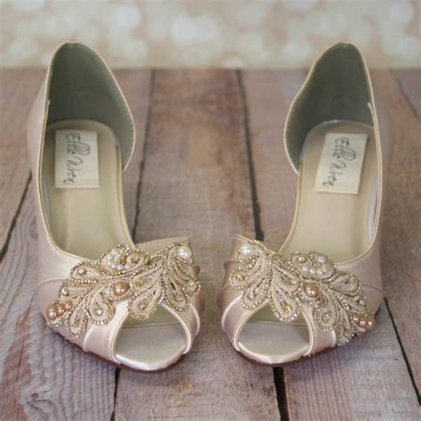 Wedding Shoes by Ivory Wedding Shoes Chagne Wedding Shoes Ivory Bridal