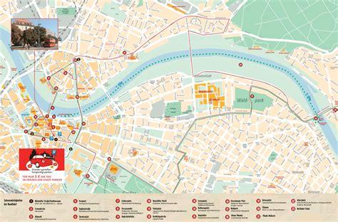 stadtplan dresden route stadtrundfahrt dresden