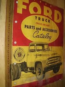 Purchase 1953 Ford Truck Parts  U0026 Accessories Catalog Body