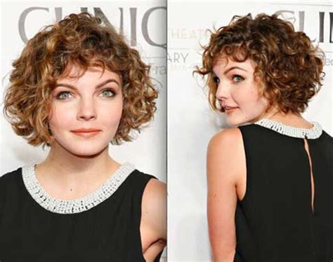 popular short curly hairstyles   faces short hairstyles    popular