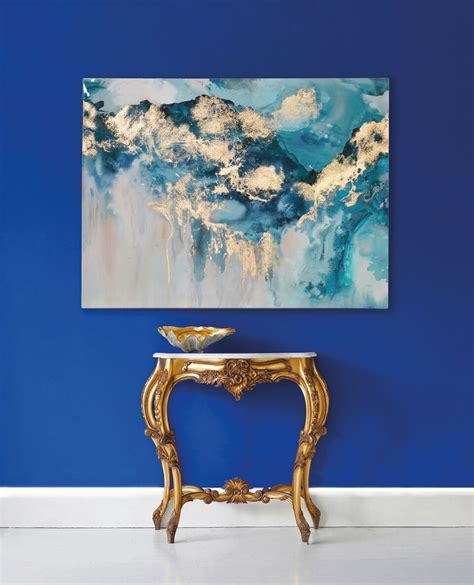 Shabby chic home decor is appealing to the masses as it can take something old and make it elegant by using various painting and aging techniques resulting in charming home decor that can really pull a space together. Pearlescent Waves Abstract Wall Art | French wall art ...
