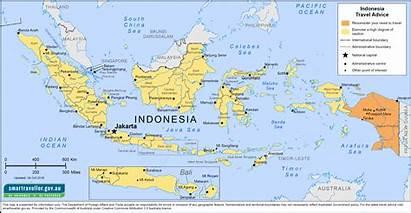 Indonesia Map Asia Smartraveller Travel Pdf