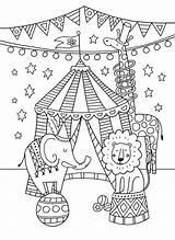 Circus Colouring Coloring Greatest Theme Showman Crafts Carnival Preschool Animal Activities Printable Clown Decorations Themes French Classroom Advocate Felicity Printables sketch template
