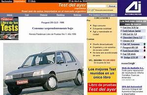 El Blog De Test Del Ayer  Peugeot 205 Gld