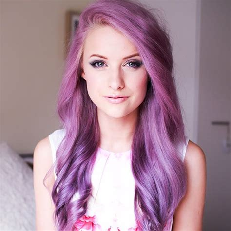 17 Best Ideas About Girl With Purple Hair On Pinterest