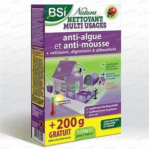 Anti Mousse écologique : natura puissant nettoyant et antimousse 1kg 200g ~ Edinachiropracticcenter.com Idées de Décoration
