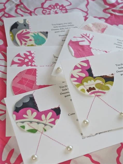 17+ images about Homemade baby shower invitation on