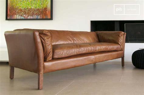 canap vintage cuir marron 13 idées déco de canapé en cuir marron