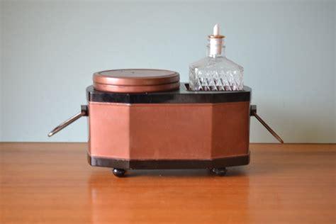 Japanese Ice Bucket Glass Decanter Barware Ot11