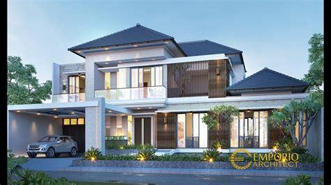 jasa arsitek desain rumah modern tropis bapak indra