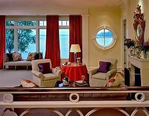 Gemütliche Wohnzimmer Farben : modernes wohnzimmer design helle kontrastierende farben ~ Markanthonyermac.com Haus und Dekorationen