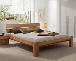 Bett Holz 200x200 : ms schuon starwood block massivholz bett ~ Orissabook.com Haus und Dekorationen