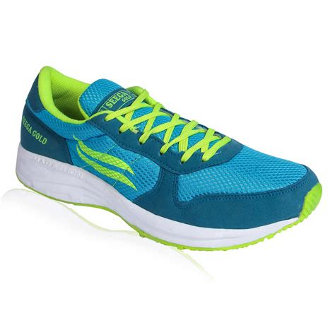 Iconic india has under its canopy top fashion brands such as tommy hilfiger, calvin klein, mango, vero moda, puma, only, nautica, crocs, jack. Seega Gold Marathon 01 Green Men Running Shoes | Online ...