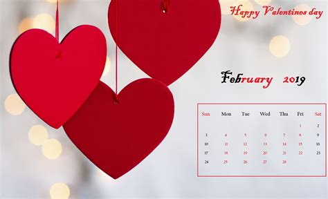 February Valentine Calendar wallpapers (99 Wallpapers ...