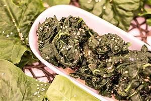 Japanischer Spinat Pflanze : japanischer spinat salat mit sesam wiressengesund ~ Frokenaadalensverden.com Haus und Dekorationen