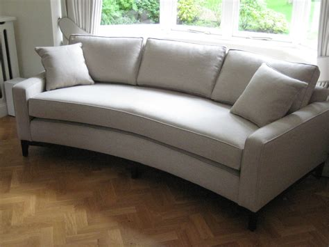 sofa to fit bay window bespoke curved sofa perfect for a bay window this has one base seat cushion to create a very